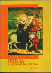 Biblia a literatura polska - okładka książki