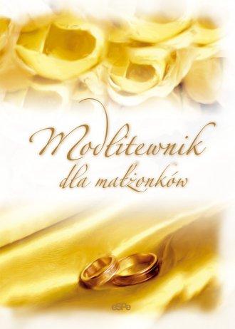 Modlitewnik dla małżonków - okładka książki