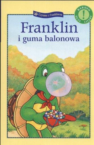 Franklin i guma balonowa - okładka książki