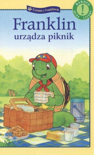Franklin urządza piknik - okładka książki