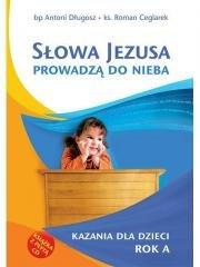 Słowa Jezusa prowadzą do nieba. - okładka książki