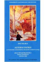 Encyklika Aeterni patris (O potrzebie - okładka książki