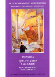 Encyklika Quanta cura i Syllabus - okładka książki