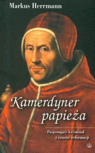 Kamerdyner papieża - okładka książki