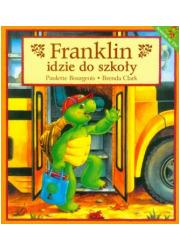 Franklin idzie do szkoły - okładka książki