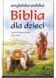 Angielsko-polska Biblia dla dzieci - okładka książki