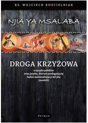 Droga Krzyżowa w języku polskim - okładka książki