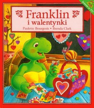 Franklin i walentynki - okładka książki