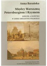 Między Warszawą, Petersburgiem - okładka książki