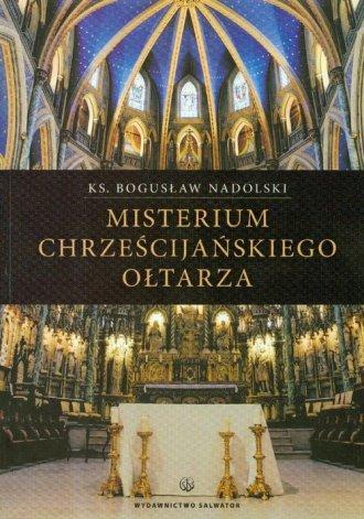 Misterium chrześcijańskiego ołtarza - okładka książki