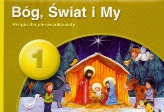 PUS 1. Bóg, świat i my. Religia - okładka podręcznika