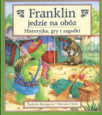 Franklin jedzie na obóz - okładka książki