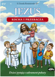 Jezus kocha i przebacza - okładka książki