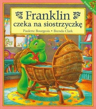 Franklin czeka na siostrzyczkę - okładka książki
