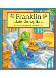 Franklin idzie do szpitala - okładka książki