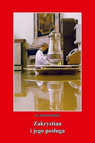 Zakrystian i jego posługa - okładka książki
