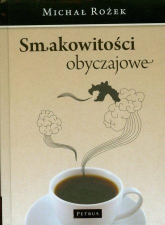 Smakowitości obyczajowe - okładka książki