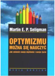 Optymizmu można się nauczyć - okładka książki
