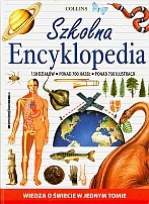 Szkolna encyklopedia. Collins - okładka książki