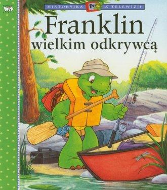 Franklin wielkim odkrywcą - okładka książki
