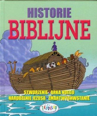 Historie biblijne - okładka książki