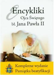 Encykliki Ojca Świętego Jana Pawła - okładka książki