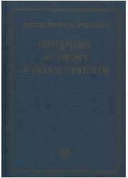 Odstąpienie od umowy w prawie cywilnym - okładka książki