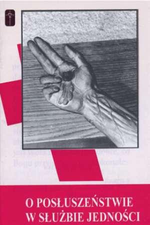 O posłuszeństwie w służbie jedności - okładka książki