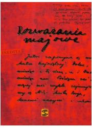 Rozważania majowe - okładka książki