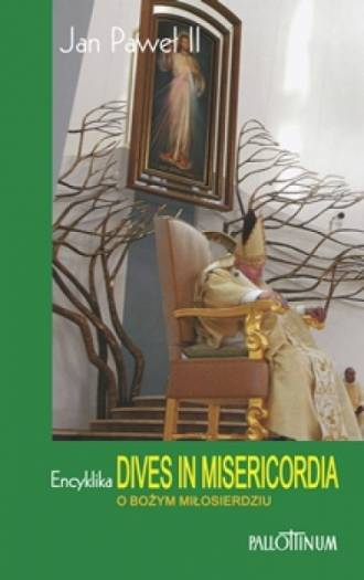 Encyklika o Bożym Miłosierdziu. - okładka książki