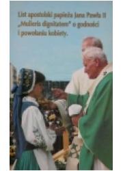 List apostolski Mulieris dignitatem. - okładka książki