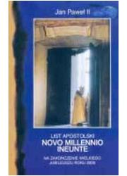 List apostolski Novo Millennio - okładka książki