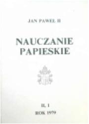 Nauczanie papieskie 1979. Tom II/1 - okładka książki