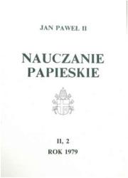 Nauczanie papieskie 1979. Tom II/2 - okładka książki