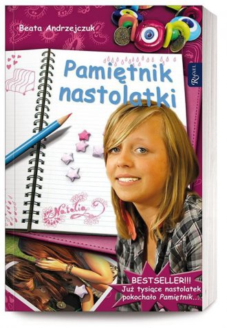 Pamiętnik nastolatki - okładka książki