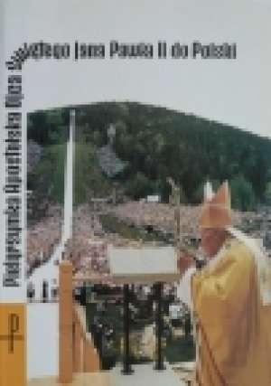 Pielgrzymka apostolska Jana Pawła - okładka książki