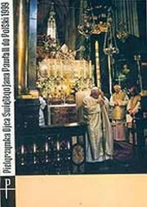 Pielgrzymka apostolska Ojca Świętego - okładka książki