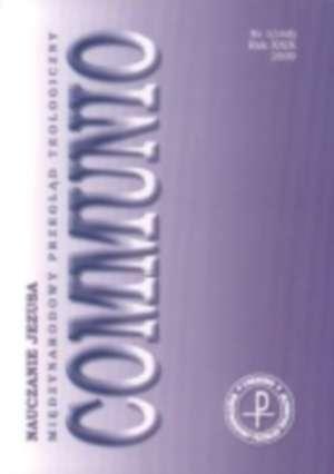 Communio nr 1(165)/2009. Nauczanie - okładka książki