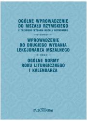 Ogólne wprowadzenie do Mszału Rzymskiego - okładka książki