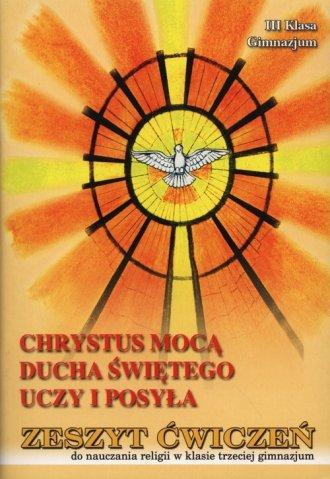 Chrystus mocą Ducha Świętego uczy - okładka podręcznika