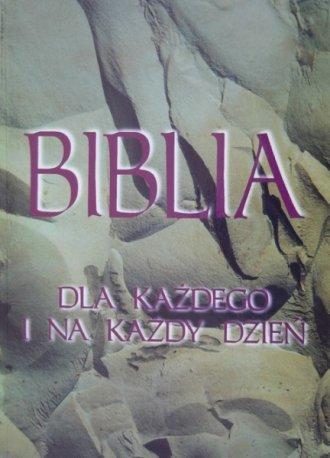 Biblia dla każdego i na każdy dzień - okładka książki