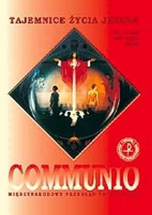 Communio nr 1/2003. Tajemnice życia - okładka książki