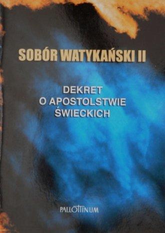 Dekret o apostolstwie świeckich - okładka książki