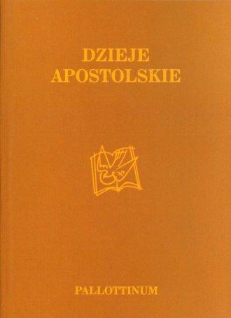 Dzieje Apostolskie - okładka książki