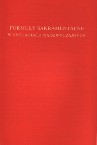 Formuły sakramentalne w sytuacjach - okładka książki