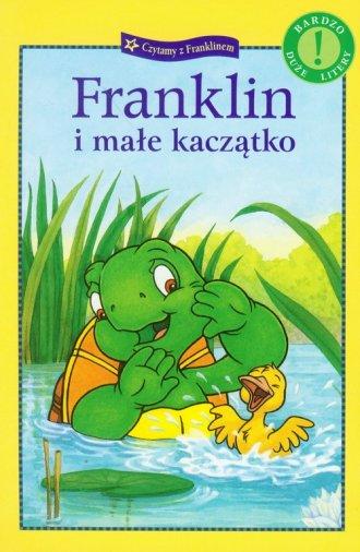Franklin i małe kaczątko - okładka książki