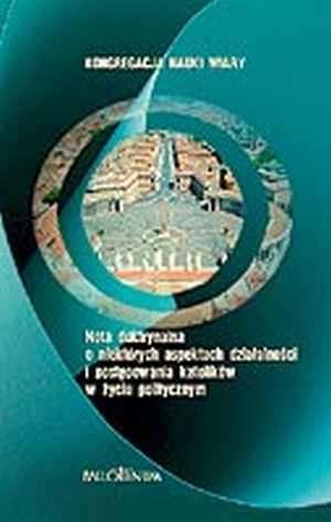 Nota doktrynalna o niektórych aspektach - okładka książki