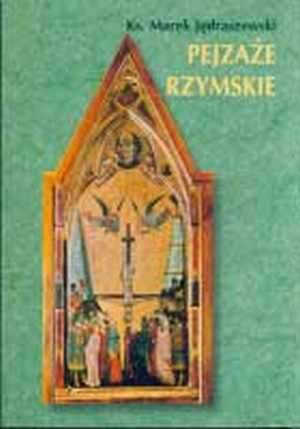 Pejzaże rzymskie - okładka książki