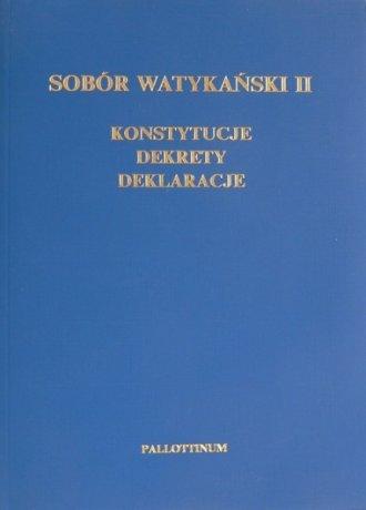 Sobór Watykański II. Dokumenty - okładka książki