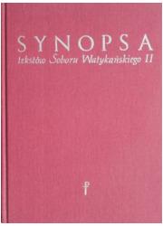Synopsa tekstów Soboru Watykańskiego - okładka książki